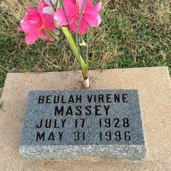 Beulah Virene Massey