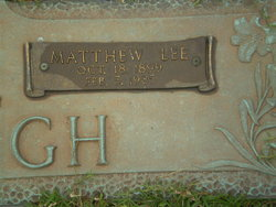 Matthew Lee McHugh