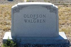 Olive Josephine <I>Olofson</I> Walgren
