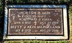"""Horton Howard """"Howard"""" Akin"""