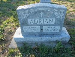"Josephine ""Josie"" <I>Derkum</I> Adrian"