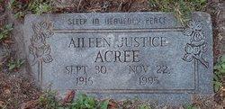 Aileen Mae <I>Justice</I> Acree