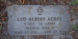 Leo Albert Acree