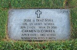 Carmen Delia <I>Correa de</I> Díaz