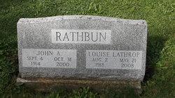 Louise <I>Lathrop</I> Rathbun