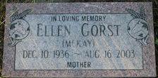Ellen Ada Laferne <I>McKay</I> Gorst