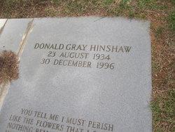 Donald Gray Hinshaw