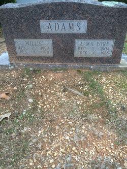 Alma Aurelia <I>Fore</I> Adams