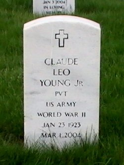 Pvt Claude Leo Young, Jr