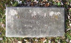 Florence Losey <I>Easton</I> Bolling