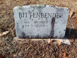 William P Bittenbender