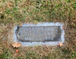 Ella Louisa <I>Cherry</I> Lamb