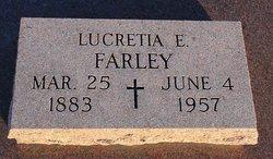 """Lucretia E """"Lue"""" <I>Shepard</I> Farley"""
