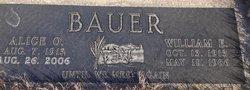 Alice O. <I>Lien</I> Bauer