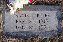 Fannie C. Boles