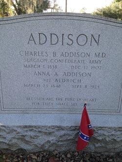 Anna <I>Aldrich</I> Addison