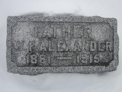 William Franklin Alexander