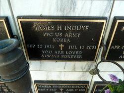 James H Inouye