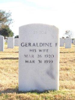 "Geraldine Ferrar ""Jerry"" <I>Moss</I> Sloan"