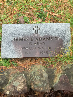James E Adams, Sr