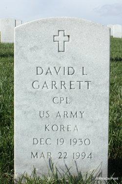 David L Garrett