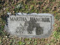 Martha Hancher Stine