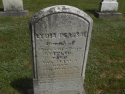 Lydia <I>Spitler</I> Pearsol