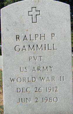 Ralph P Gammill