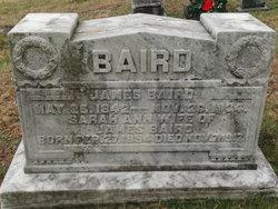 Pvt James Baird