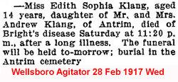 Edith Sophia Klang