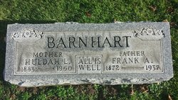 "Franklin Amos ""Frank"" Barnhart"