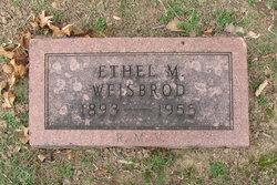 Ethel M. <I>Jury</I> Weisbrod