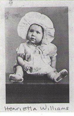Caroline Henrietta <I>Williams</I> Buffkin