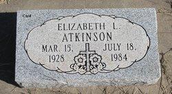 Elizabeth L. <I>Coleman</I> Atkinson