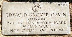 Edward Grover Gavin