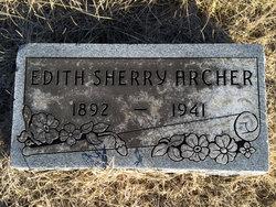 Edith <I>Sherry</I> Archer