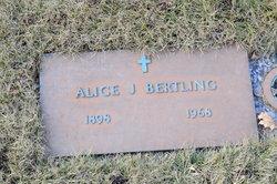 Alice Jeanette <I>Andersen</I> Bertling