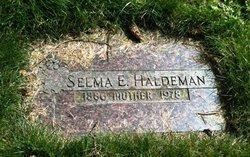 Selma E. Haldeman