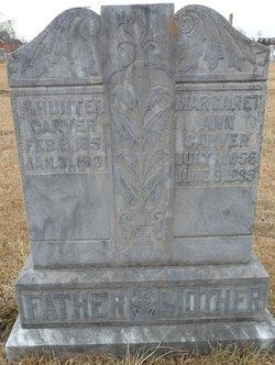Margaret Ann <I>Webb</I> Carver