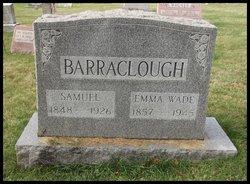 Emma Charlesworth <I>Wade</I> Barraclough