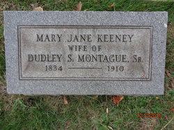 Mary Jane <I>Keeney</I> Montague