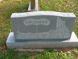 Leroy Richard Grohman