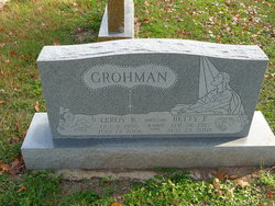 Betty Barbara <I>Waldron</I> Grohman