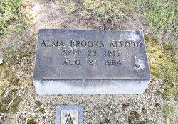 Alma <I>Brooks</I> Alford