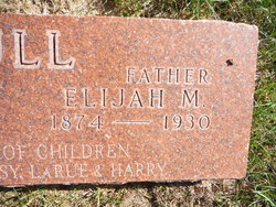 "Elijah Milton ""Lije"" Hull"