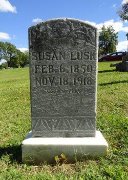 "Susannah ""Susan"" <I>Cline</I> Lusk"