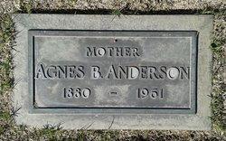 Agnes Bernhardina Anderson