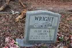 Elsie Dean <I>Gibson</I> Wright