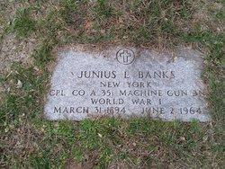 Junius L Banks