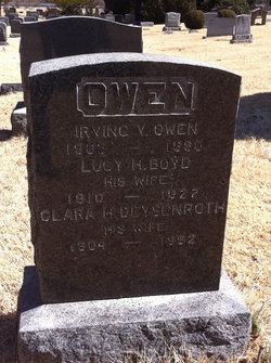 Clara Hermine <I>Deysenroth</I> Owen
